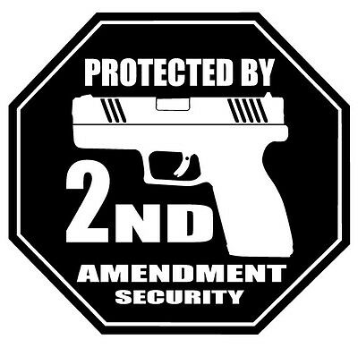 We The People,Patriots,God,Family,Guns,Second Amendment,Stickers,Vinyl Decal
