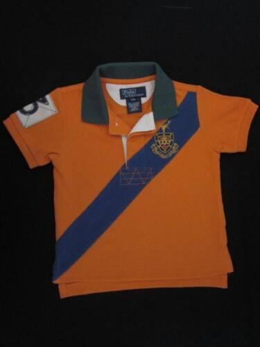 Children Ralph Lauren Orange w// Blue Sash Rugby NWT12 mo.