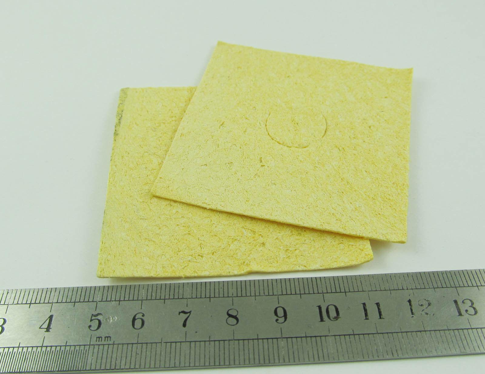 35x45mm Soldering Iron Cleaning Pads Sponge Tip Sponges Welding Solder Iron