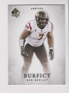 Details about 2012 Upper Deck SP Authentic #98 Vontaze Burfict RC, Arizona State Sun Devils