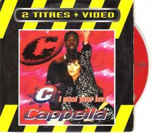 Cappella-I-Need-Your-Love-CDS-1995-Eurodance-2TR-Cardsleeve-France