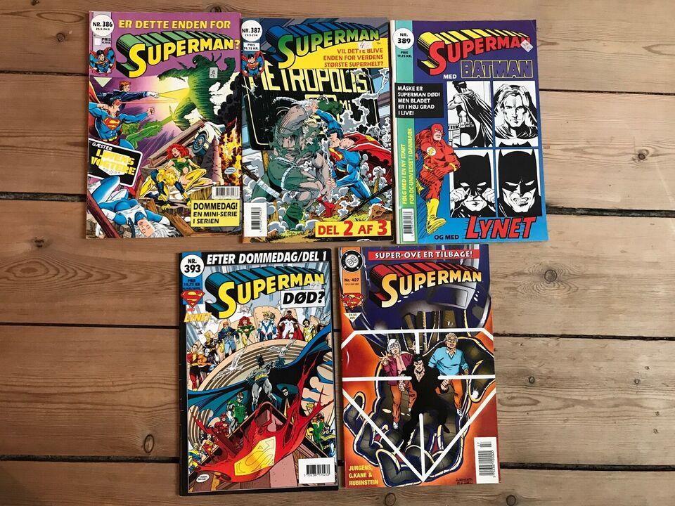 Superman, Tegneserie