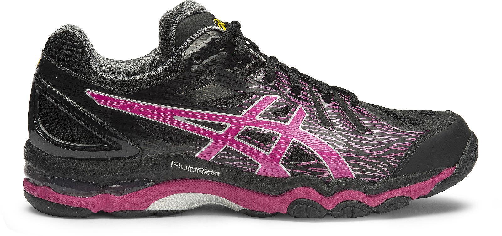 SUPER SPECIAL    Asics Gel Netburner Super 6 femmes Netball chaussures (B) (9021)