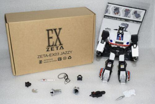 New Transformers Zeta toys ZETA EX-03 Jazzy MP JAZZ Figure In Stock