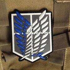 Unicorn Attack on Titan Military Police Brigade Badge ARMY Rubber Patch