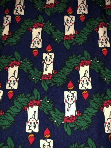 Candles di Blue Leggings Lularoe Nwt Os Background Natale vintage XRTXn7xSp