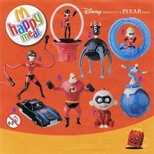McDonald/'s MC DONALD/'S HAPPY MEAL 2004 Gli incredibili Pezzi singoli