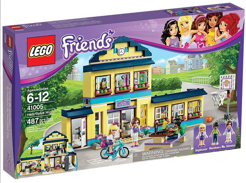 LEGO ® Friends 41005 Heartlake SCUOLA NUOVO OVP _ Heartlake High NEW MISB NRFB