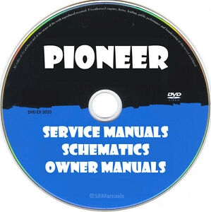 Details about Pioneer Audio Hifi Service Manuals- PDFs on DVD - Huge on