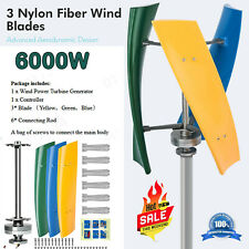 6000withvertical Wind Power Turbine Generator Maglev Generator Withcharge Controller