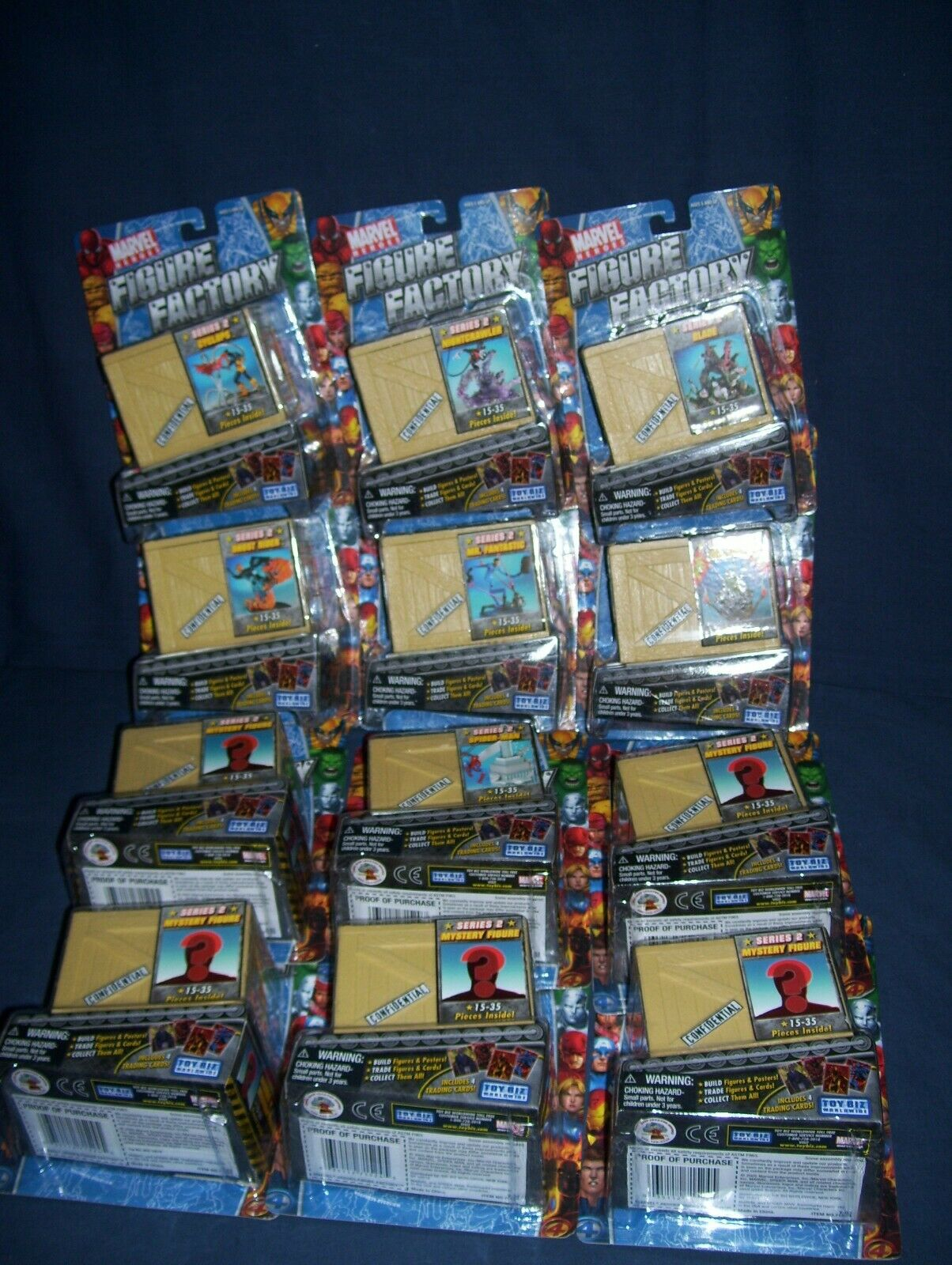 Marvel cifra Factory Series 2 completare Set Set Set with Mystery cifras ad3d01