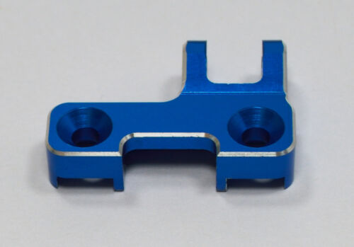 CNC Alloy Rear Chassis Brace Mount Blue For Team Associated RC8B3 RC8B3e