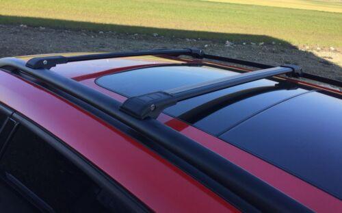 MINI COUNTRYMAN F60 Onwards 2016 ANTI THEFT ALUMINIUM CROSS BAR RACK 75 KG BLACK