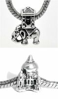 Set Of 2 Charms indian Theme