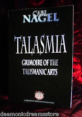 TALASMIA  Finbarr .Occult Black  Magick Grimoire. Carl Nagel. Magic Talismans