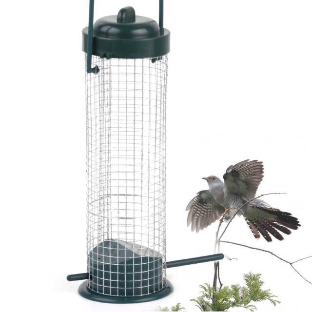 6.5x23cm Vogelfuttersäule Vogelfutterstation Futterstelle Vogel Futterspender