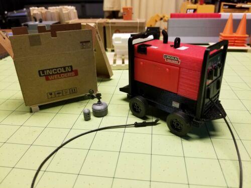 Miniature Custom Truck 250-hp Welder-Generator 1//14th scale for RC Construction