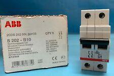 ABB S201 B10 Sicherungsautomat Leitungsschutzschalter 2CDS251001R0105