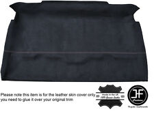 GREY STICH ROOF HEADLINING PU SUEDE COVER FITS LAND ROVER DEFENDER 90 TRUCK CAB