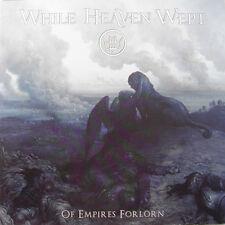 "WHILE HEAVEN WEPT ""OF EMPIRES FORLORN"" BLUE VINYL DOUBLE LP LTD"