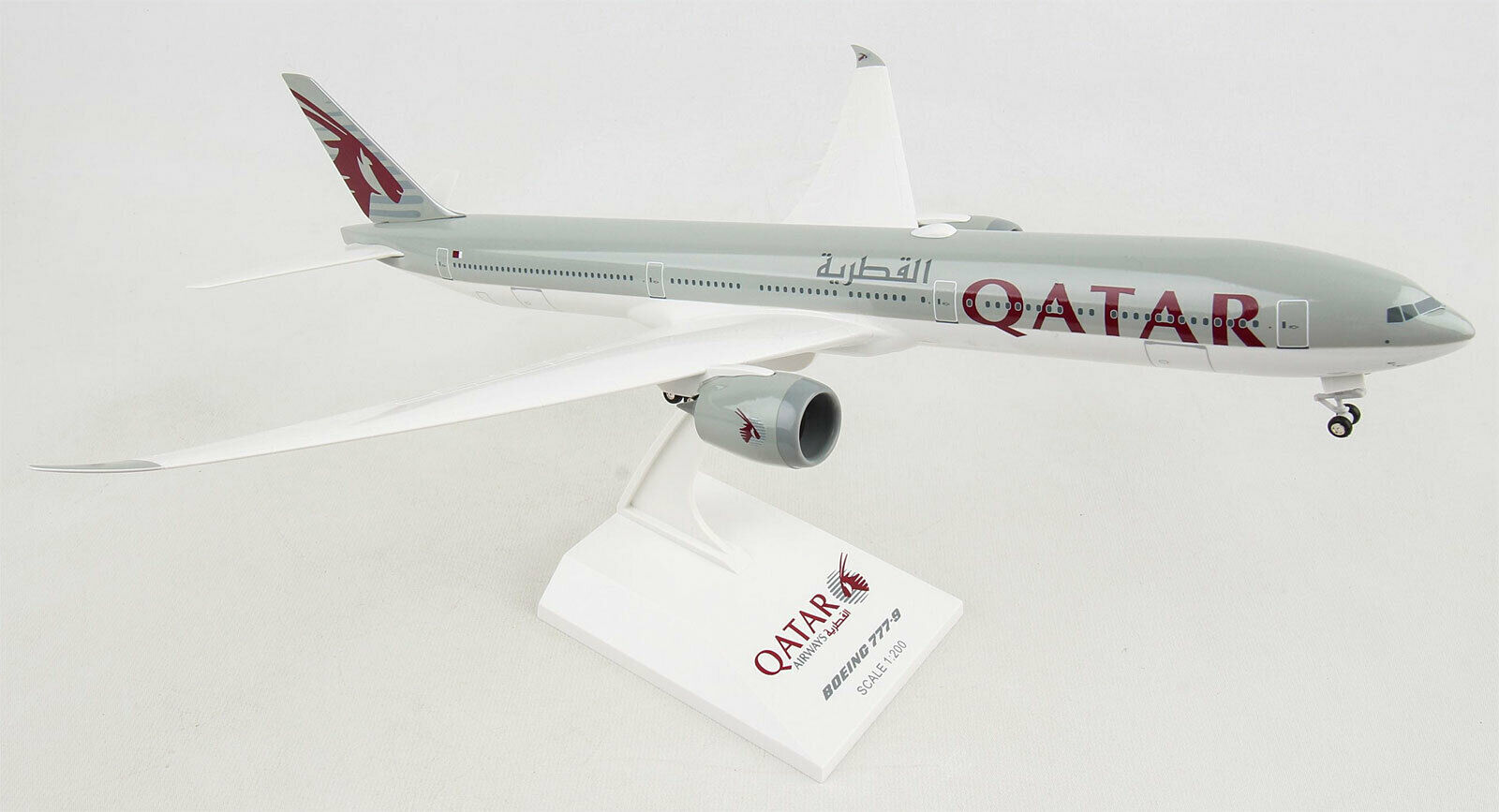 Qatar Airways Boeing 777-9 1  200 Skymarks skr1014 modèle b789 pliantes flügelsp  plus abordable