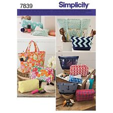 SIMPLICITY 7839 OS SCHNITTMUSTER DAMEN TASCHE TASCHEN 11 VARIATIONEN