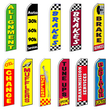 Pack of 10 Hardware not Included auto Alarm King Swooper Feather Flag Sign