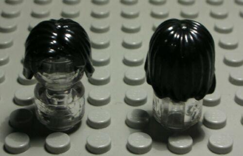 Lego Figur Zubehör Haar Schwarz für Frau 2657 EQ