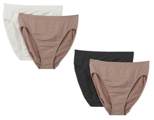 "Rhonda Shear /""Ahh/"" Brief Panty 2-pack HSN 448-338"