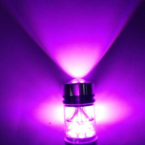 2x 100W 14000K Purple LED Headlight Bulb Kit Fog Light For Nissna Rogue 2008-18