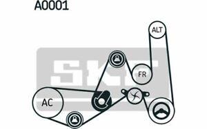 SKF crantées côtes Courroie Courroies trapézoïdales pour véhicules sans climatisation