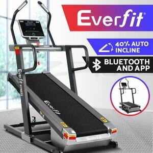 Everfit Treadmill Electric Incline Trainer Auto Gym Exercise Machine Fitness Run