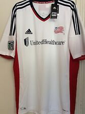 NWT 2013-14 New England Revolution Adidas Authentic MLS Soccer Jersey Size XL