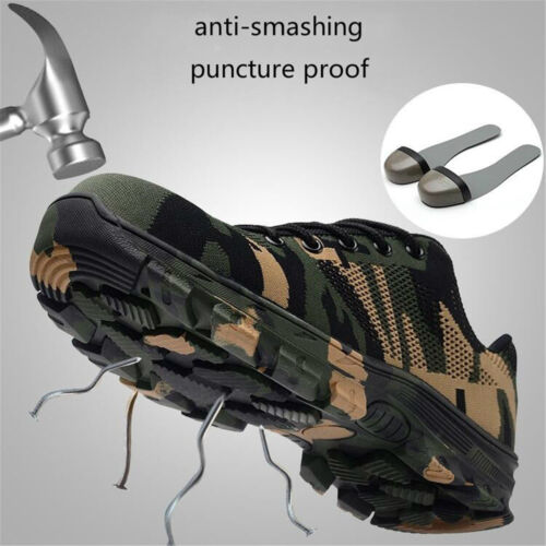 Men/'s Bulletproof Super X Protective Shoes Steel Head Safety Boots