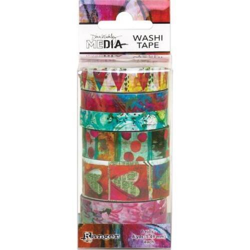 Dina Wakley Media Washi Tape