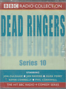 Dead-Ringers-Series-10-2-Cassette-Audio-BBC-Radio-4-Comedy-Mark-Perry-Jan-Ravens