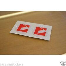 VENUS - (RESIN DOMED) - Caravan Wheelcap Badge Stickers Decals Graphics - PAIR