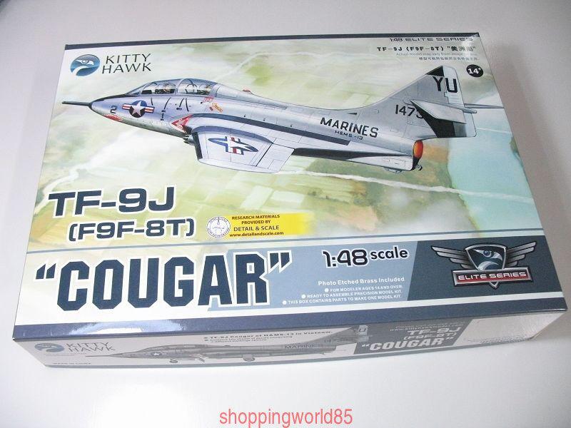 Kitty Hawk 80129 1 48 TF-9J(F9F-8T)  Cougar