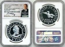 2017 HALF DISME RESTRIKE 225TH ANN NGC PF70 UC ED MOY SIGNED LOW MINTAGE OF 2000