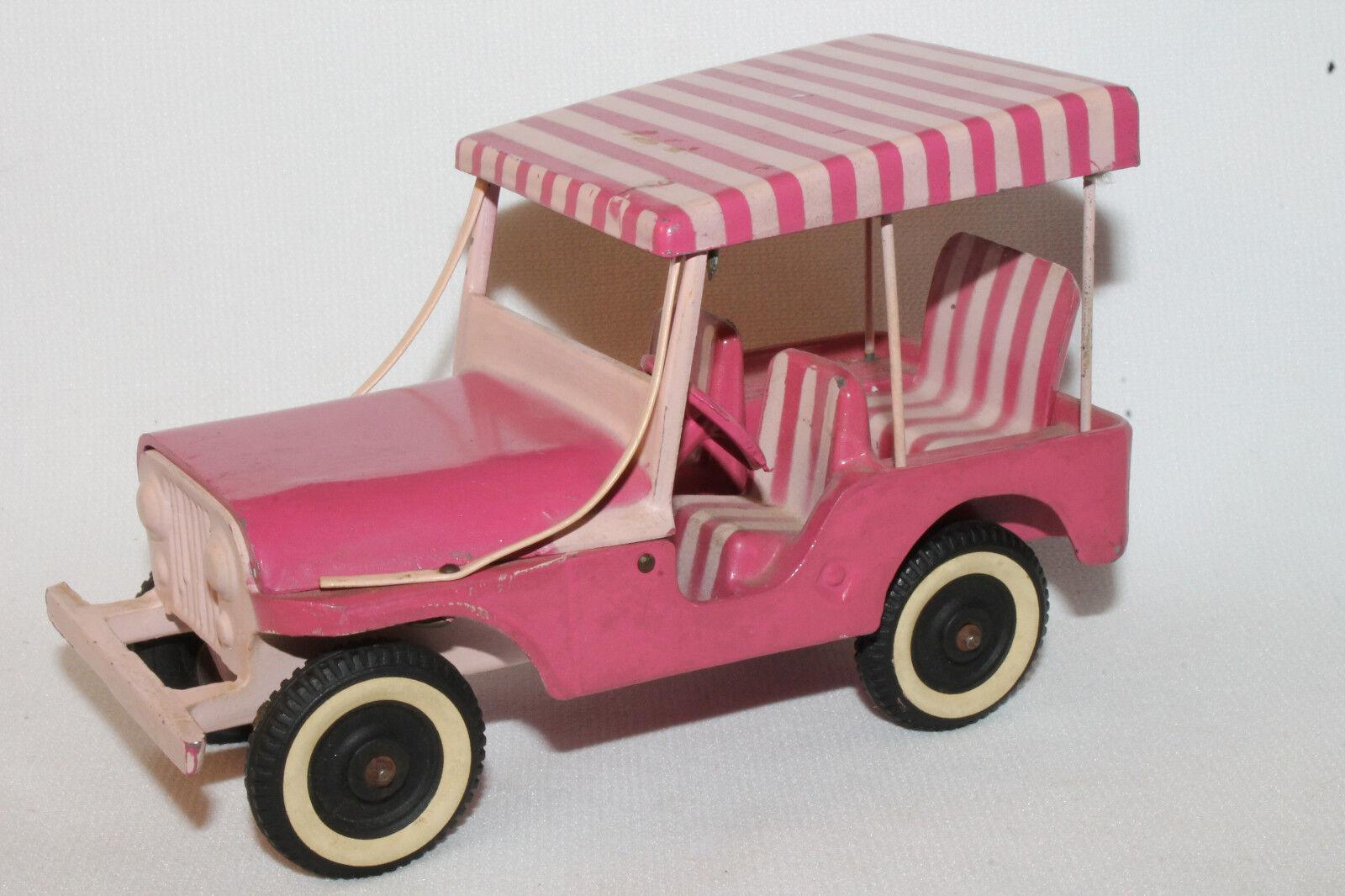 Accucast 1959 Willys Gala Jeep Promo, Surrey Top, Tarro Metal Original