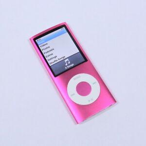 Apple-iPod-Nano-8GB-4th-Gen-Generation-Pink-MP3-WARRANTY-VGC