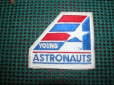 "Humor Vintage Usa Space Missions--nasa--""young Astronauts Program"" Patch #3 Nasa Program"