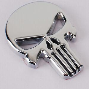 The-Punisher-Harley-Davidson-Motorcycle-Tank-Body-Emblem-Badge-Decal-Metal-NEW