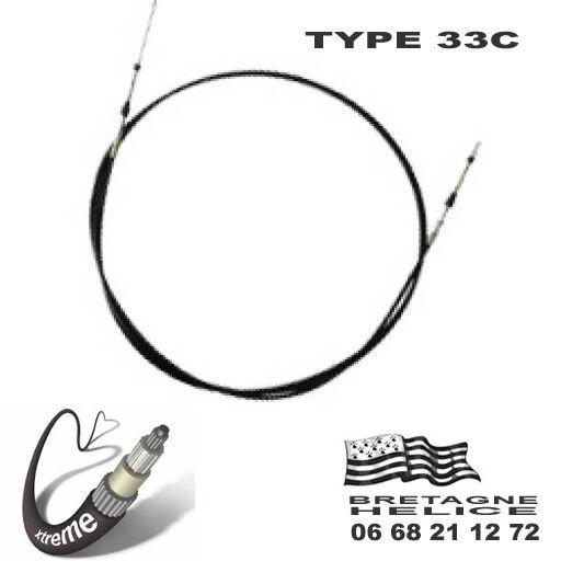 CABLE DE COMMANDE 33C XTREME TYPE CCX633 TELEFLEX 1.83 A 15.24M