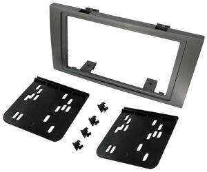 Adaptateur-autoradio-facade-cadre-reducteur-2DIN-pour-Ford-C-Max-Fiesta-Focus