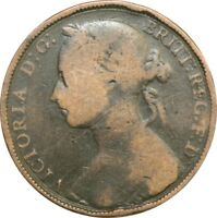 Victoria Penny Bun Head Pennies Choose your date 1860-1894 POOR OR BETTER