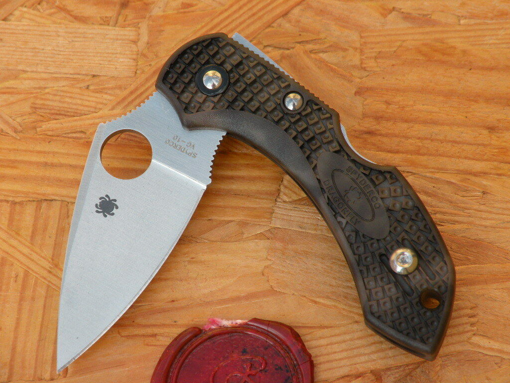 3Spyderco C28ZFPGR2 Dragonfly 2, ZOME Grün  | Outlet Store Online