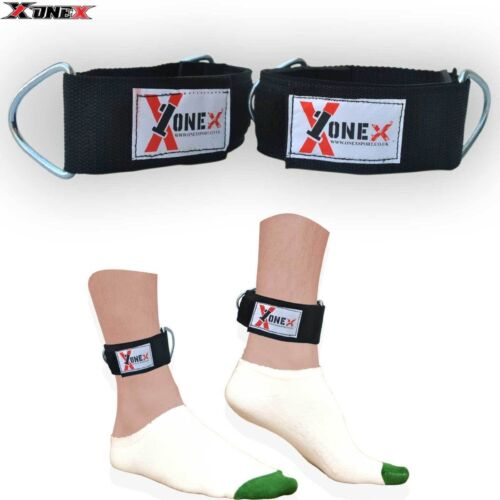 Ankle Double  Gym Ring Strap Multi Cable Attachment Leg Pull Lifting WEIGHT