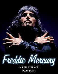 Freddie-Mercury-A-Kind-of-Magic-by-Mark-Blake-Hardcover-Book-FREE-SHIPPING
