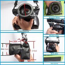 DSLR SLR Camera Underwater Housing Case for Canon 5D Mark III 7D Nikon D750